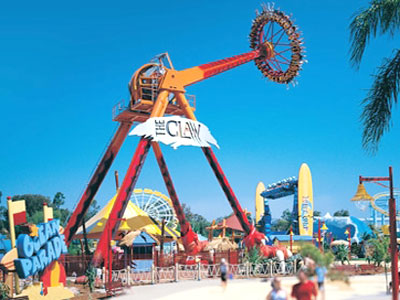 Dreamworld – home to The Big 6 Thrill Rides