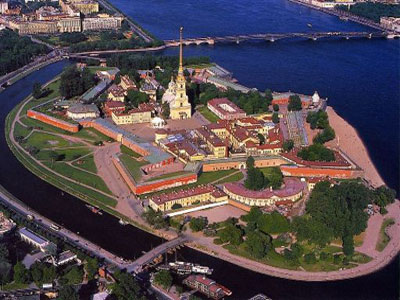 The Saints Peter and Paul Fortress