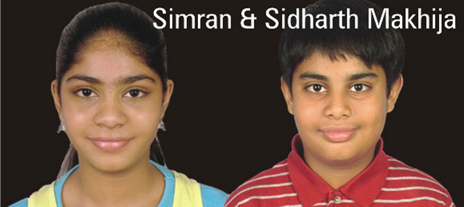 Simran and Sidharth Makhija